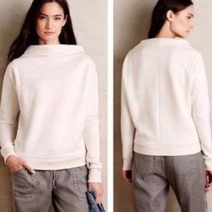 Postmark x Anthropologie Funnel Neck Sweatshirt